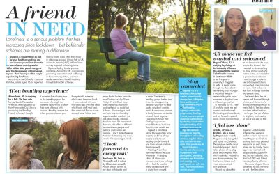 We were featured in Woman's Weekly!